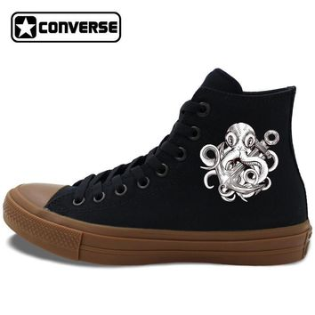 Octopus Anchor Painted Converse