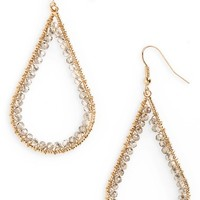 Panacea Beaded Teardrop Earrings | Nordstrom