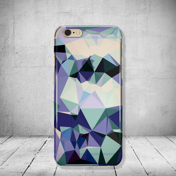 Geometric iPhone 6 Case Clear Transparent iPhone 6s Case Clear iPhone 5 Case iPhone SE Case iPhone 6s Case Soft Silicone iPhone Case No: 94