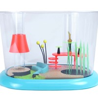 Retro Townhouse 1.6 Gallon Fish Bowl by FantaSeas