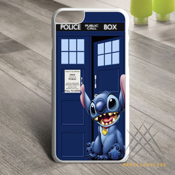 tardis lilo stitch Custom case for iPhone, iPod and iPad