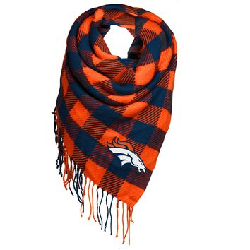 Denver Broncos Official NFL Oversized Scarf