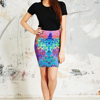Textile Federation Xroma Miniskirt - Urban Outfitters