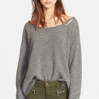 Women's RtA Destroyed Cashmere Sweater,
