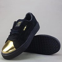 Trendsetter Puma Suede Classiccrftd Fashion Casual Low-Top Old Skool Shoes