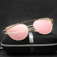 Women Polarized  Eyeswear for Fishing Driving Cycling Sunglasses Clear with Box Accessories Girl Spectacles Pilot Gafas De Sol