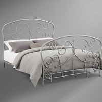 Madaline Pewter Bed in a Box