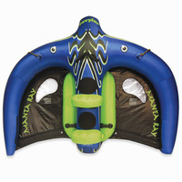 The Flying Manta Ray Inflatable - Hammacher Schlemmer