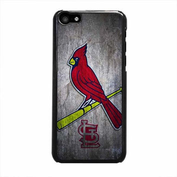 st louis cardinals stone logo nfl design iphone 5c 5 5s 4 4s 6 6s plus cases