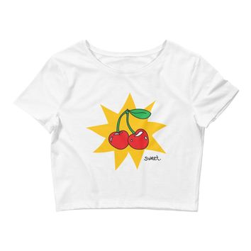 Sweet Cherry Crop Top