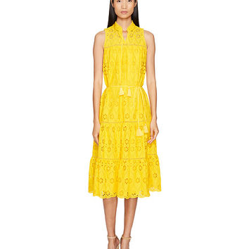 Kate Spade New York Spice Things Up Eyelet Patio Dress