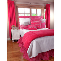 Princess Bedding in Hot Pink