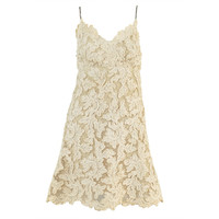 Bill Blass 1960s Lace + Rhinestone Cocktail Dress