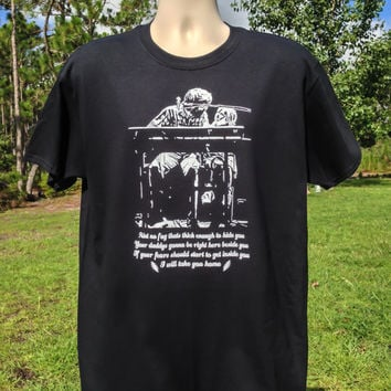 Brent Mydland- I will take you home- Grateful Dead Gildan preshrunk 100% ultra cotton T shirt and womens