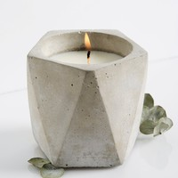Free People Cement Candle Pentagon