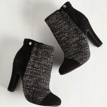 Downtownin' Around Bootie | Mod Retro Vintage Boots | ModCloth.com