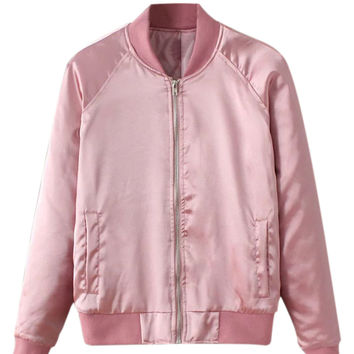Best Pink Zip Up Jacket Products on Wanelo