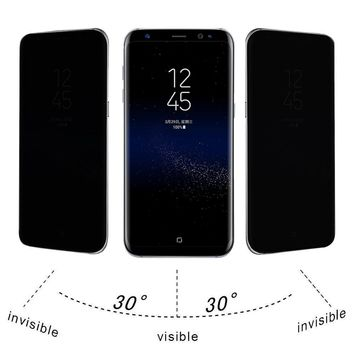 Samsung Galaxy S8 Privacy Full Screen Protector Anti-Spy Tempered Glass