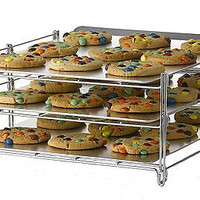 Nifty 3-in-1 Oven Baking Non Stick Cup Cake Birthday Party Kitchen Cookie Rack