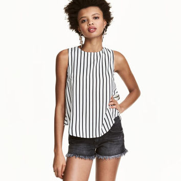 H&M Sleeveless Blouse $14.99