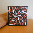 Abstract Painting Pink Flower Aboriginal Inspired by Acires