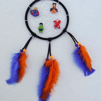 Lego Marvel Superhero dreamcatcher/ kids dreamcatcher/boys dreamcatcher