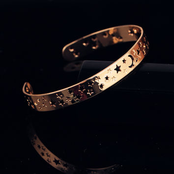 Stylish Shiny New Arrival Jewelry Star Hot Sale Bangle [9377825863]