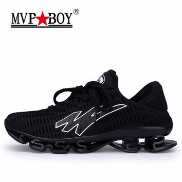 MVPBOY Men's Running Shoes Springblade Sneakers Cushioning Outdoor Sport Shoes for Men