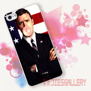 Justin Timberlake Bubblegum for iPhone 4/4S, iPhone 5/5S, iPhone 5C, iPhone 6 Case - Samsung S3, Samsung S4, Samsung S5 Case