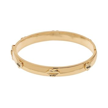 Juicy Couture Heart Bangle Bracelet (Yellow)