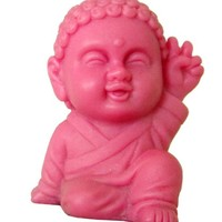 Pocket Buddha, Peace (Pink)