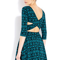 Worldly Girl Cutout Dress   FOREVER21 - 2000065330