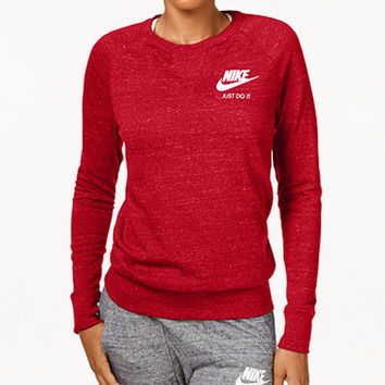 Nike Gym Vintage Long-Sleeve Top | macys.com