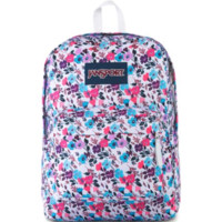 JanSport - Superbreak Petal To The Metal Print Backpack