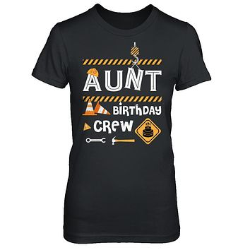 Aunt Birthday Crew Construction Birthday Party Gift