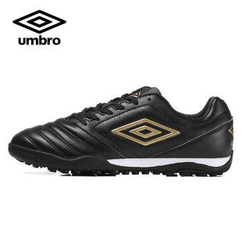 2016 New  UMBRO Men's  Soccer Shoes Firm Ground(fg) Rubber Hard Court Formotion Fabric Lace-up Football Shoes Sneakers  UCB90145