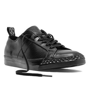 Perforated Rambler Lo in Black