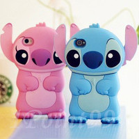 Blue Color Stitch Pattern Case for iPhone 4/4s from 1Point99.com