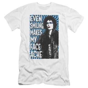 Rocky Horror Picture Show - Face Ache Premium Canvas Adult Slim Fit 30/1 Shirt Officially Licensed T-Shirt