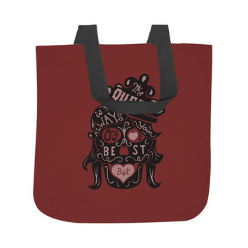 The Queen of Hearts Tote Bag