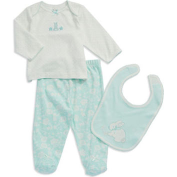 Little Me Three-Piece Bib Set