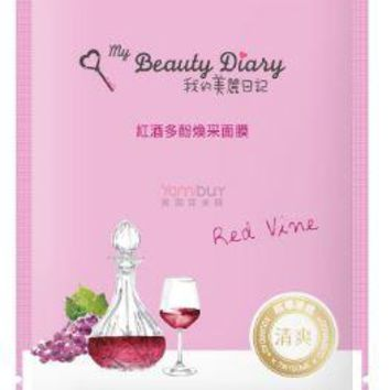 My Beauty Diary Red Vine Revitalizing Mask