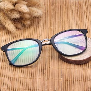 SOZO TU Fashion Trend Retro Light Cosy Eyewear Frame Women Men Student Optical Eyeglasses Computer Glasses Spectacle Frame