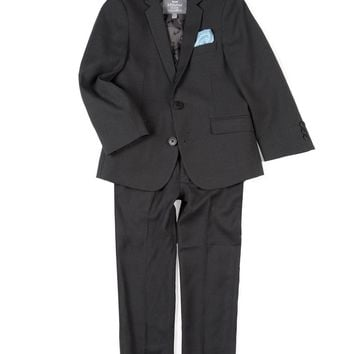 Appaman Boys' Charcoal Houndstooth Mod Suit