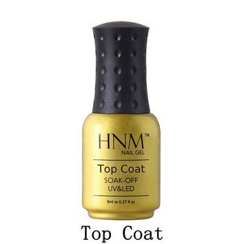 HNM 8ml Gel Lacquer Builder Gel For Nail Art Manicure Long-lasting Top Coat Professional Top It OFF For Nail Gel Painting