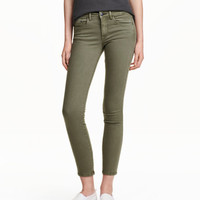 Slim Low Cropped Jeans - from H&M