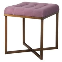 Threshold™ Tufted Ottoman - Lavender and Gold