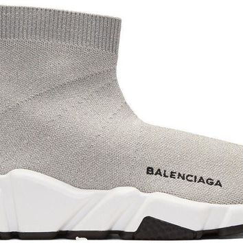 Balenciaga Speed Sock Women's Trainers Silver