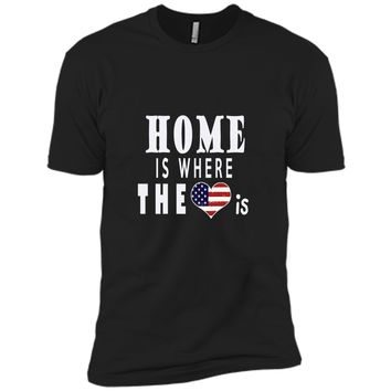 USA Flag Pride- American Short Sleeve for Independence Day
