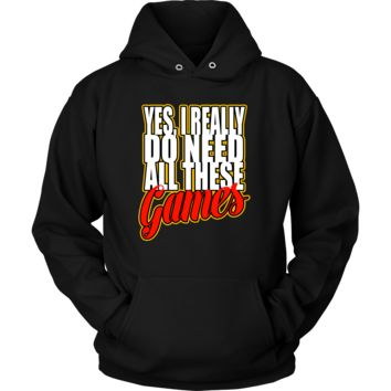 Sweater with Hoodie for Game Lovers